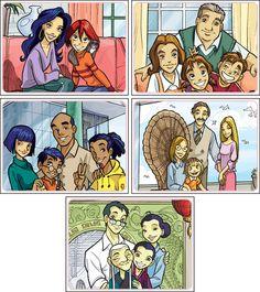 W.I.T.C.H: Family