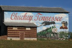Barn painting by Barney's Blue, via Flickr