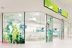 Royal Children's Hospital. Designed by Büro North / Illustrations by Jane Reiseger @enviromeant.com