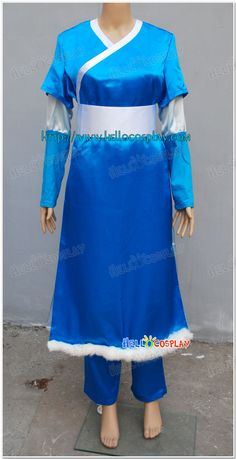 Katara Cosplay Costumes From Avatar The Last Airbender