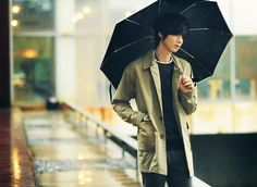 Won Jong Jin, Raincoat, Costumes, Jackets, Fashion, Rain Jacket, Down Jackets, Moda, Dress Up Clothes