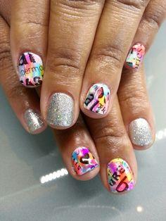 Summer nails. ;)