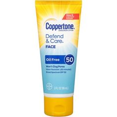 Bayer 1 EA 041100007018 Coppertone Defend & Care Oil Face SPF 3 for sale online Sunscreen Spf 50, Sport Sunscreen, Face Lotion, Broad Spectrum Sunscreen, Face Oil, Skin Care, Ebay, Free, Bridesmaid Jewelry