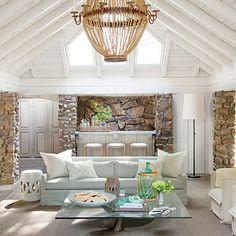 Uma casa no lago (revista Southern Living)