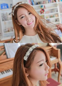 Today's Hot Pick :Floral Lace Headband http://fashionstylep.com/SFSELFAA0006714/bapumken1/out High quality Korean fashion direct from our design studio in South Korea! We offer competitive pricing and guaranteed quality products. If you have any questions about sizing feel free to contact us any time and we can provide detailed measurements.