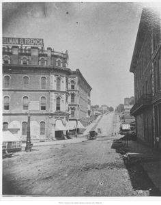 Street at The Junction - 1880 Census takers find people in KC. Kansas City Downtown, Kansas City Map, Missouri Valley, Kansas City Missouri, Scale Model Architecture, Victorian Architecture, Great Places, Places To Visit, St Joseph Mo