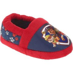 Boy's Toddler Paw Patrol Slipper (DO NOT Publish), Size: 9 to 10, Blue