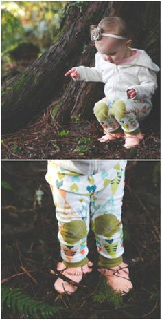 knee patch leggings. Love this Etsy shop! Alpine Baby Co.
