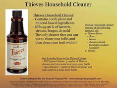 Thieves Household Cleaner YLEO Thieves Household Cleaner, Thieves Cleaner, Household Cleaners, Young Living Thieves, Young Living Oils, Young Living Essential Oils, Thieves Essential Oil, Cleaning Solutions, Health And Wellbeing