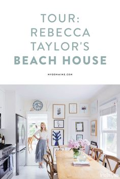 Step inside the beach house of fashion designer Rebecca Taylor