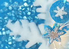 Frozen Theme Snowflake Cookies Each Cookie is Different (just like real snowflakes) Make by the talented and beautiful Ms Anita Shown here hanging on the twinkle branches. This cookie tree is part of a giant Frozen Theme Candy Buffet- to see more Frozen Party Food Visit our website www.dessertbuffets.com.au for more images. http://dessertbuffets.wix.com/dessert-buffets-#!frozen-buffet/c1lll Candy Buffets Sydney | Frozen Buffet Dessert Buffets Sydney Candy Buffets