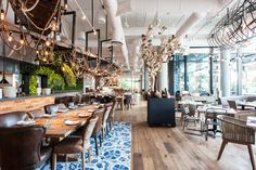 Herringbone in Santa Monica, CA | Los Angeles Restaurants With the Most Stunning Design