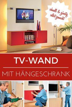 TV-Wände sind ein teurer Spaß –so einfach lässt sich viel Geld sparen und die Fernsehwand individuell anpassen.