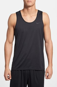 a293e9f0899b77 Nike  Dri-FIT Touch  Moisture Wicking Tank Top available at  Nordstrom Nike