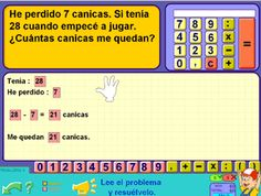 Completa los problemas de matemáticas de Segundo Ciclo de Primaria con Pipo Online  #problemas #matemáticas #math #educación #PDI #online #niños #education #ELE #games #homeschooling