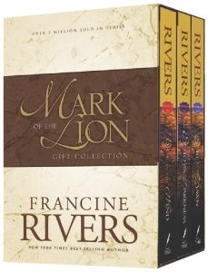 Mark of the Lion Series by Francine Rivers--these books will change your life! So so good..