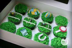 Kentucky Derby Horse Racing Cupcakes