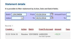 Get paid to view pictures & videos. Get paid to listen to music. You're already spending your time at it. Why not get paid for it? Here is my New Withdrawal Proof from AdClickXpress. I get paid daily and I can withdraw daily. Online income is possible with ACX, who is definitely paying - no scam here. Thank You ACX!!!!