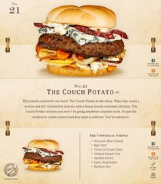 40 Of The Most Delicious-Looking Cheese Burger Combinations Ever - UltraLinx Burger Menu, Gourmet Burgers, Burger Recipes, Grilling Recipes, Cooking Recipes, American Burgers, Lunch Snacks, Wraps, Wrap Sandwiches