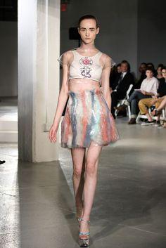Elizabeth Ammerman, Pratt Institute Fashion Show 2012