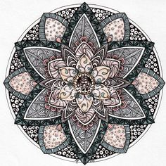 August Mandala 9 by Artwyrd on deviantART