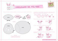 All sizes   Coelhinho de Feltro (PAP com molde)   Flickr - Photo Sharing!