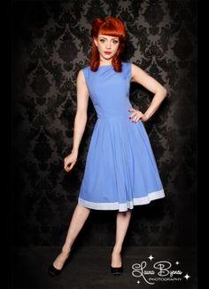 Periwinkle Sleeveless Dress