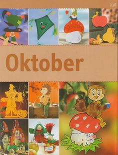 Barkács egész évre - Zsuzsi tanitoneni - Picasa Web Albums 3 Year Old Activities, Preschool Projects, Craft Projects, Projects To Try, Book Crafts, Diy Crafts, Fall Crafts For Kids, Tole Painting, Fall Halloween