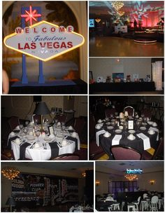"""""""The Best is Yet to Come"""" vintage vegas/rat pack themed formal fundraiser"""