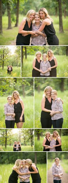 Loving this mother and daughter inspired family photo session. The light was just perfect. Sunny S-H Photography