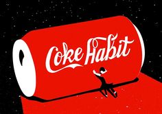 """Coke Habit"" is an animated short film by New York-based studio Dress Code featuring the true story of one of their co-worker"