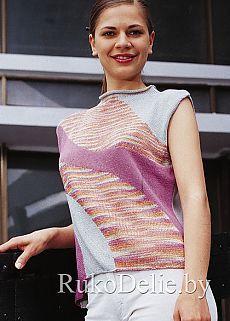 Ropa :: Máquina de tejer verano Modelos tejer mangas jersey Machine :: de las mujeres / Ropa para mujer de la máquina de tejer :: RukoDelie.by