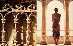 Varanasi L'affaire 2012 By Tarun Khiwal Advertising Photography, Varanasi, Indian Bridal, Asian Fashion, Editorial Fashion, Desi, Fashion Photography, Photoshoot, Clothes