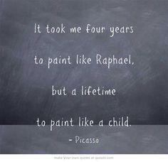 4. Cuando él tenía 14 años su familia se mudó a Barcelona y él entró en una escuela muy famosa para arte. El no le gustaban las reyes y no fue a clase mucho.