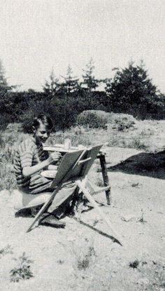 Plein air painting with a 12-year-old Robert Genn
