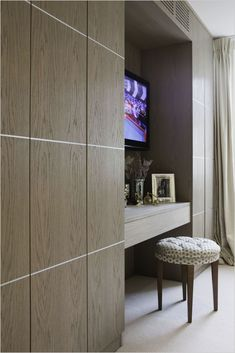 Master dressing table & fitted wardrobe modern style bedroom by rbd architecture & interiors modern Bedroom Built In Wardrobe, Wardrobe Wall, Fitted Bedroom Furniture, Fitted Bedrooms, Built In Furniture, Kitchen Furniture, Furniture Design, Modern Wardrobe, Bespoke Furniture
