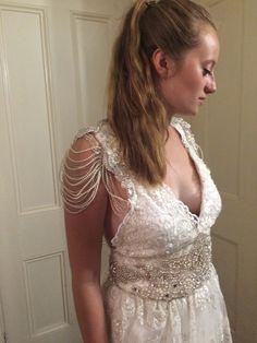 Zoe - Vintage Style Lace Lace Bridal Gown £3,250.00