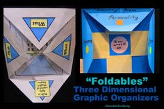 Graphic Organizers: Foldables. Article filled with different examples