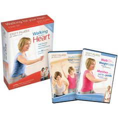 Stott Pilates Walking For Your Heart DVD Two-Pack - Stott Pilates Walking For Your Heart DVD DISK Walk on to Total Fitness, Enjoy this calorie burning Walking Pilates™ workout and learn to walk your way to a better body. Calories Burned Walking, 30 Minute Workout, High Energy, How To Slim Down, Body Image, Burn Calories, Nice Body, Your Heart, Fitness Goals