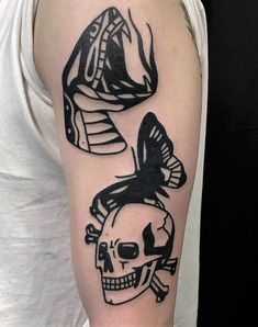 33 Bold Illustrations Blackwork Tattoos