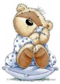Baby room art teddy bears Ideas for 2019 Tatty Teddy, Bear Clipart, Cute Clipart, Cute Images, Cute Pictures, Lapin Art, Fizzy Moon, Teddy Bear Images, Moon Bear
