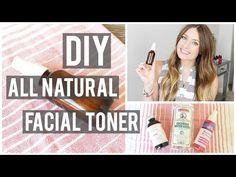 DIY: All Natural Rose + Witch Hazel Facial Toner | Kendra Atkins - YouTube