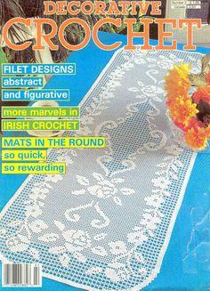 Decorative Crochet Magazines 2 - Nadia Petrowa - Álbuns da web do Picasa...FREE MAGAZINE!