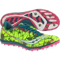 Saucony Women's Shay XC4 Spike Track and Field Shoe - the ones i asked for for my birthday