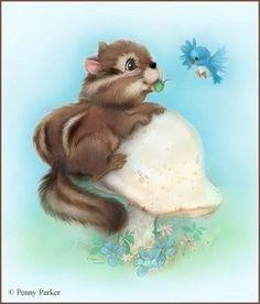 Penny Parker Animals | от художника-иллюстратора Penny Parker ...