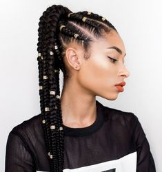 10 Protective Hairstyle Ideas #braids #hairstyle #tresses