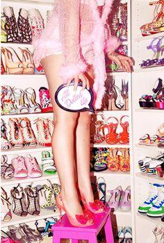 Sophia Webster Barbie shoes campaign