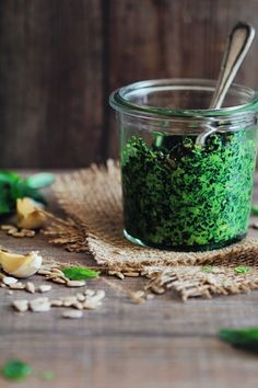 Spring is the perfect time to boost energy and up your metabolism. Whip up this easy detox pesto, and get 14 more spring detox recipes.