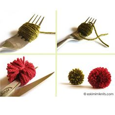 Bored Blog Almighty: Wrap fork-poms