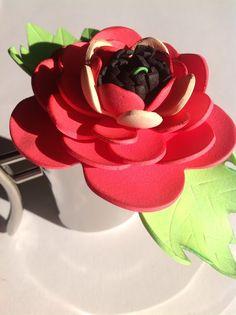 Szemem Tükrében: Nőnapi és Anyák napi virág készítés gumilapból...!